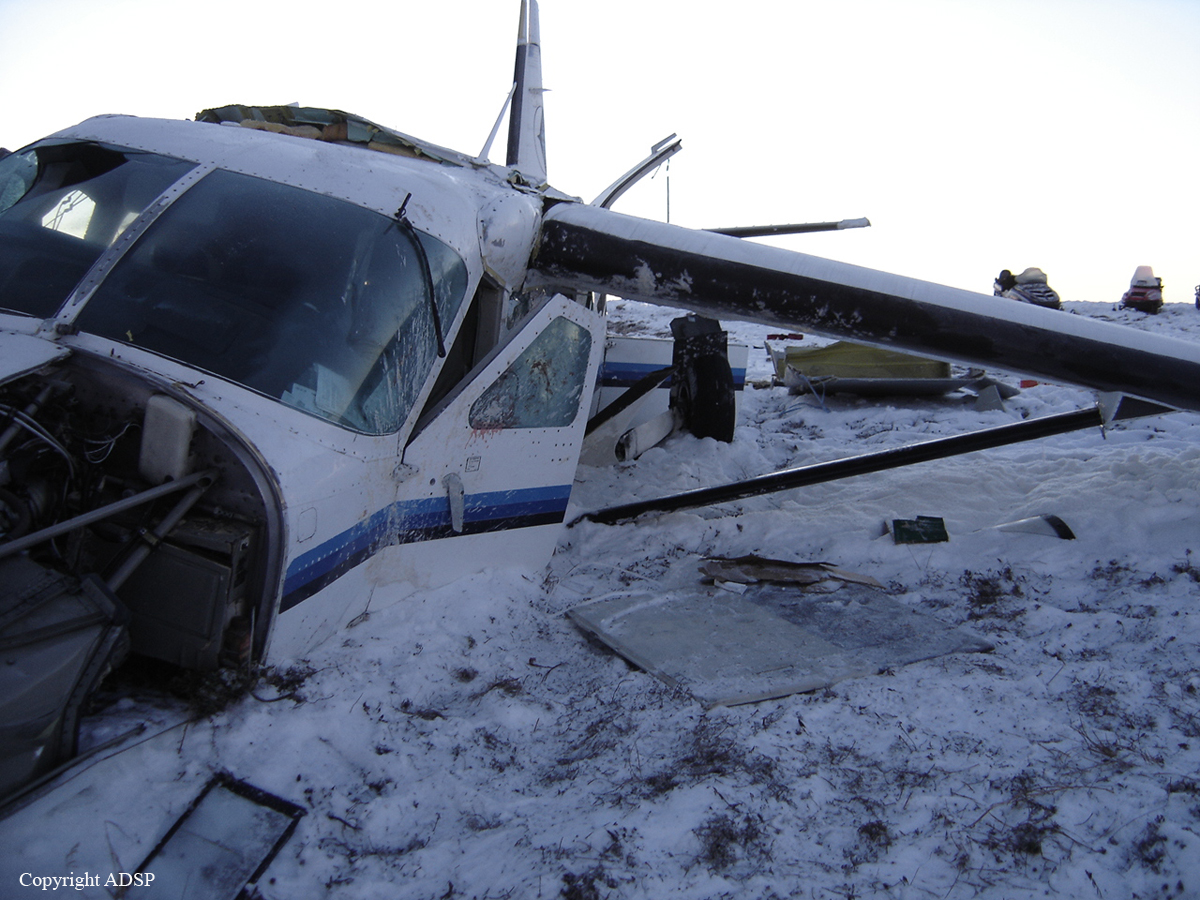 Crash of a Cessna 208 Caravan in Bethel  Bureau of