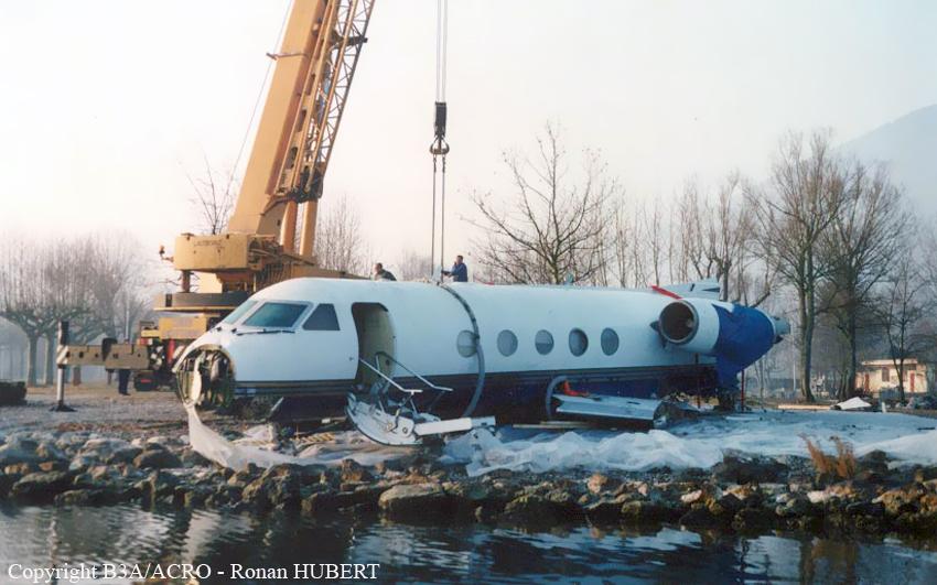 Crash Of A Gulfstream GIII In Chambry Bureau Of