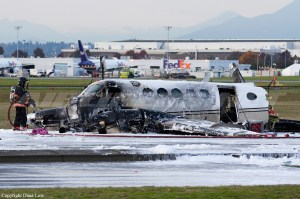 Crash of a Beechcraft King Air A100 in Vancouver: 2 killed