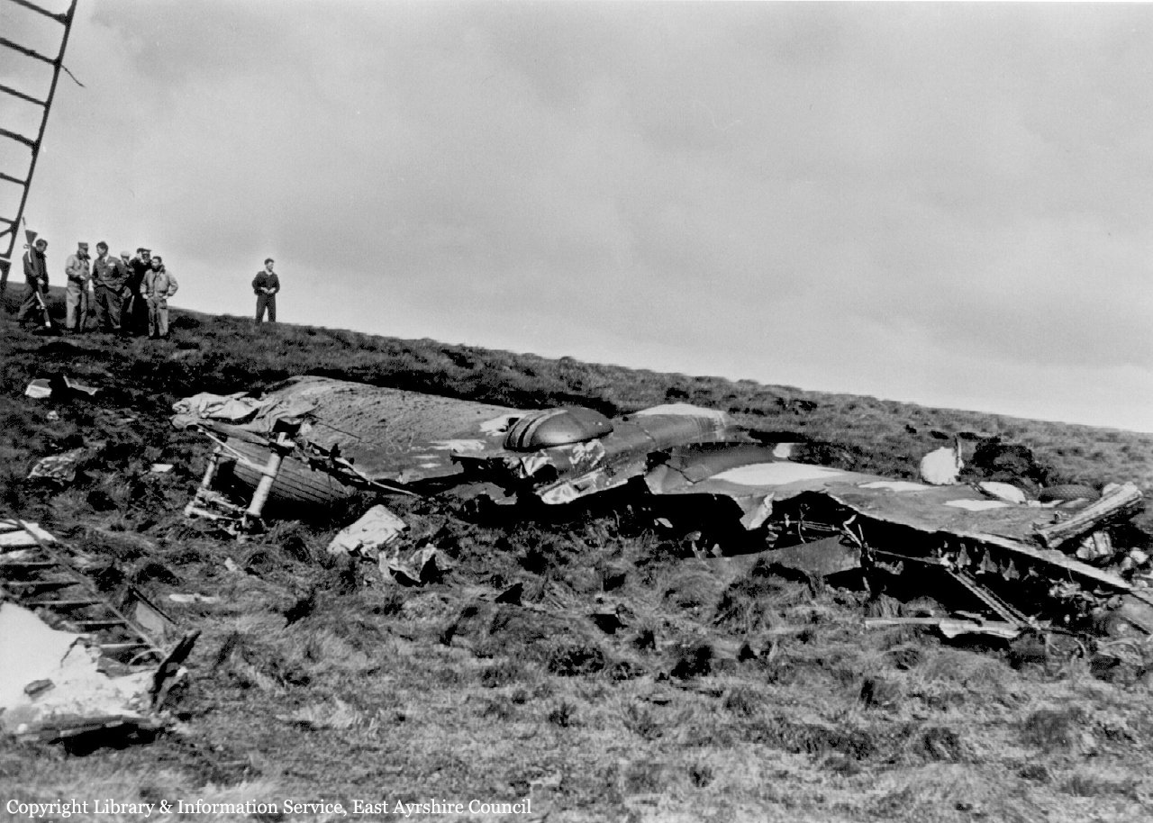 Crash of a Douglas B26B Invader in Sorn 2 killed