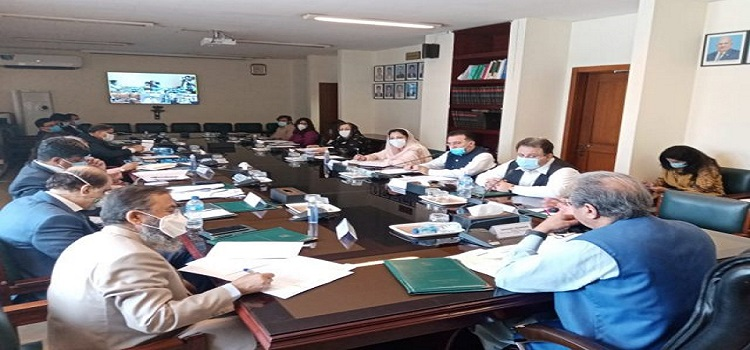 Federal Minister Chairing an educational meeting