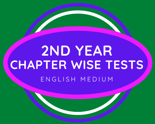 2nd Year Test Series