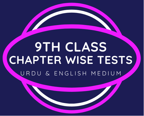 9th class chapter wise tests
