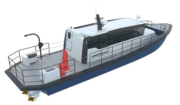 Tuco Marine leverer en ProZero 15m arbejdsbåd til Aqua Norge