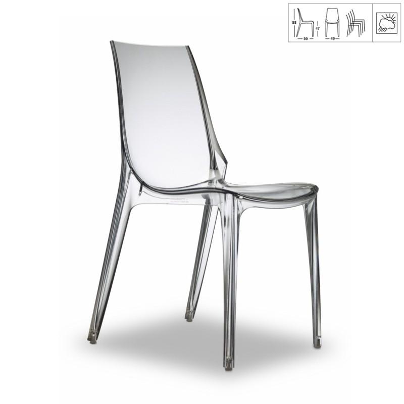 chaise de salon polycarbonate