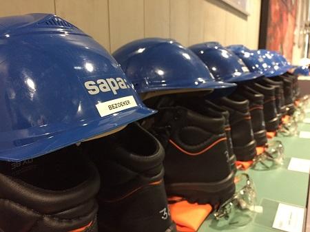 Baanbrekers mocht op werkbezoek bij SAPA.