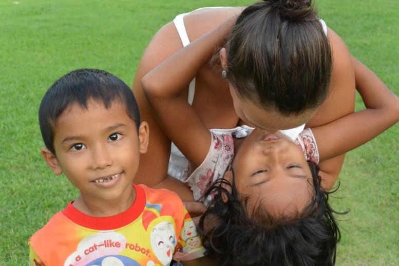 Morgane with Tawan and Kalyta