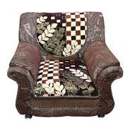 amazon sofa set 5 seater leather slipcover get kuber industries cover heavy velvet cloth 10 pieces brown cream exclusive print at rs 1272 offer