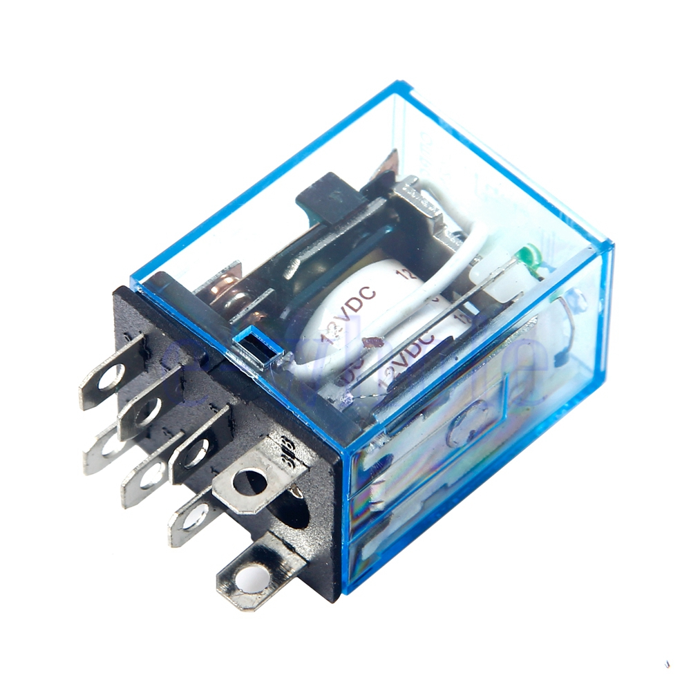 10a Coil Wiring Diagram Lighting Relay Omron Ly2nj Small Relay 10a 8pin Coil Dpdt 12v Dc Tw