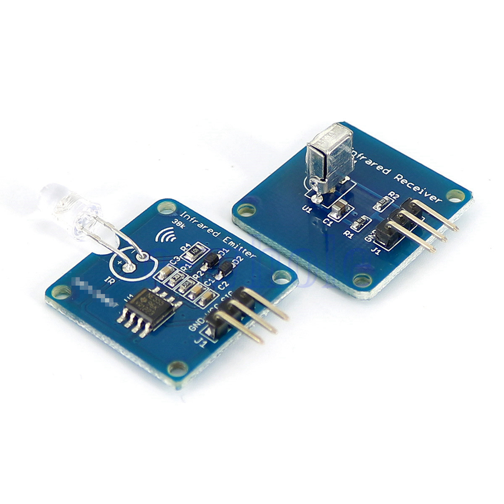 Infrared Signal Transmitter And Receiver Circuits Music Power By