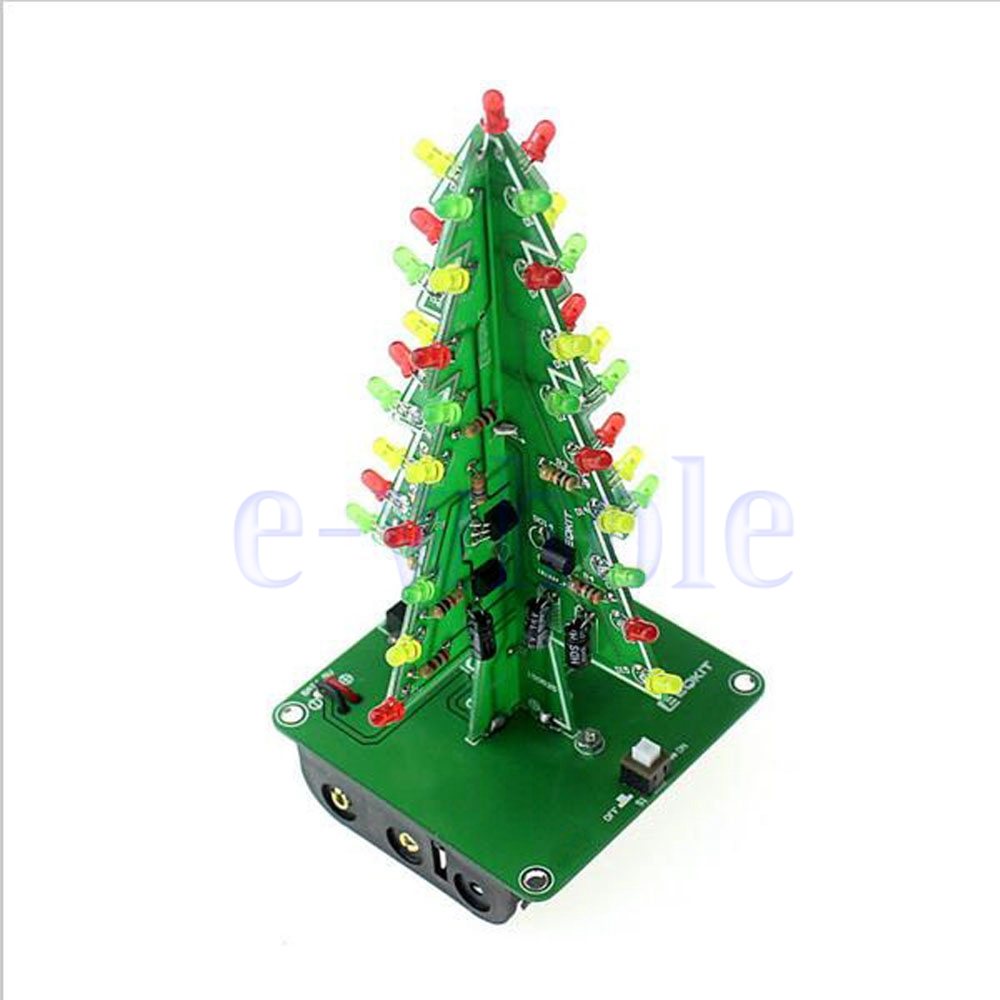 Tree Light 16 Led Electronic Project Circuit Board Kit Ebay