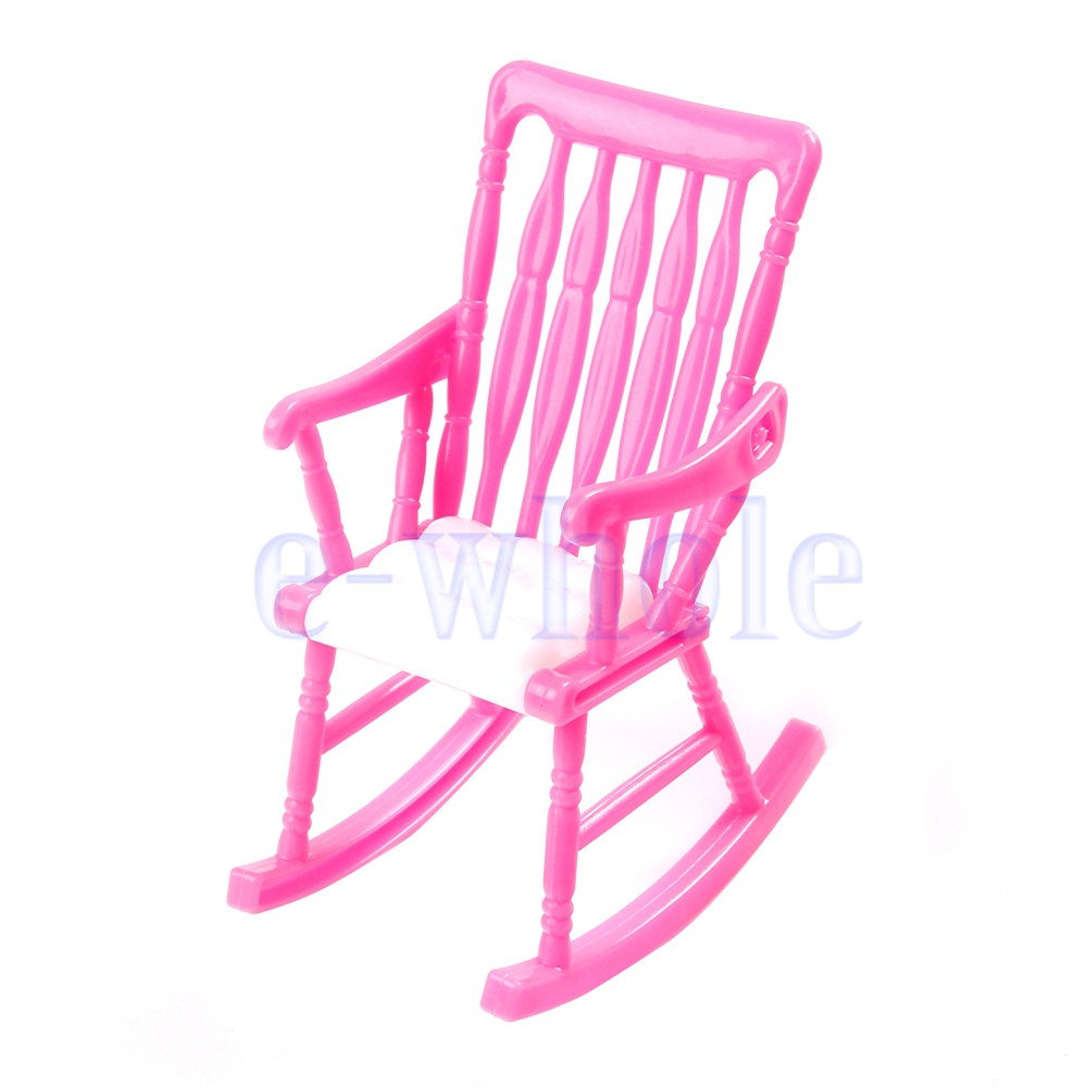 Room Dollhouse Nursery Miniature Furniture Rocking Chair