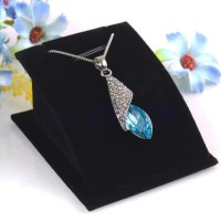 Fashion Jewelry Necklace Pendant Drop Chain Display Holder