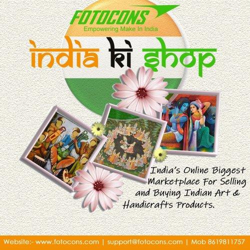 Indian original canvas paintings
