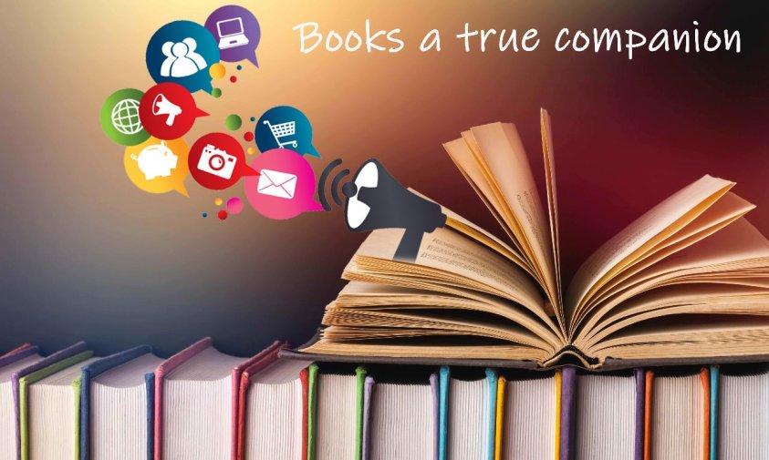 Books a true companion