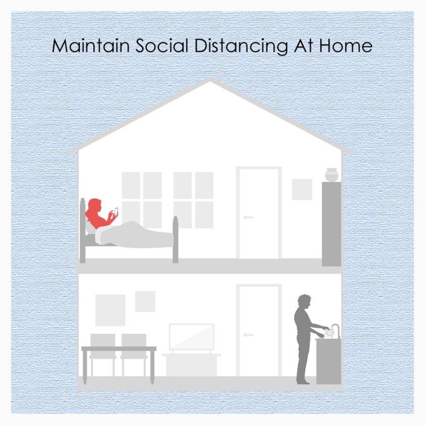 Maintaining Social distance