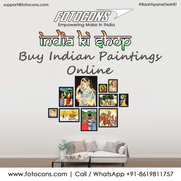 Online shop for Indian paintings