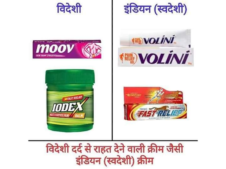 Indian Products (स्वदेशी उत्पाद )