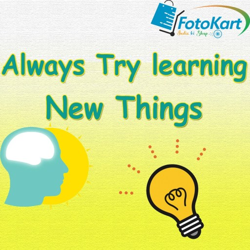 Try learning new things