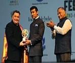 Rishi Kapoor Felicitation by Rajyvardhan rathore