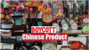 Boycott Chinees Goods-Buy Indian