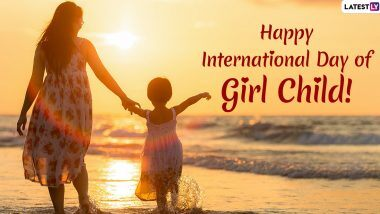 Save girl child. Educate girl child