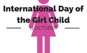 11 October-International day for Girl Child