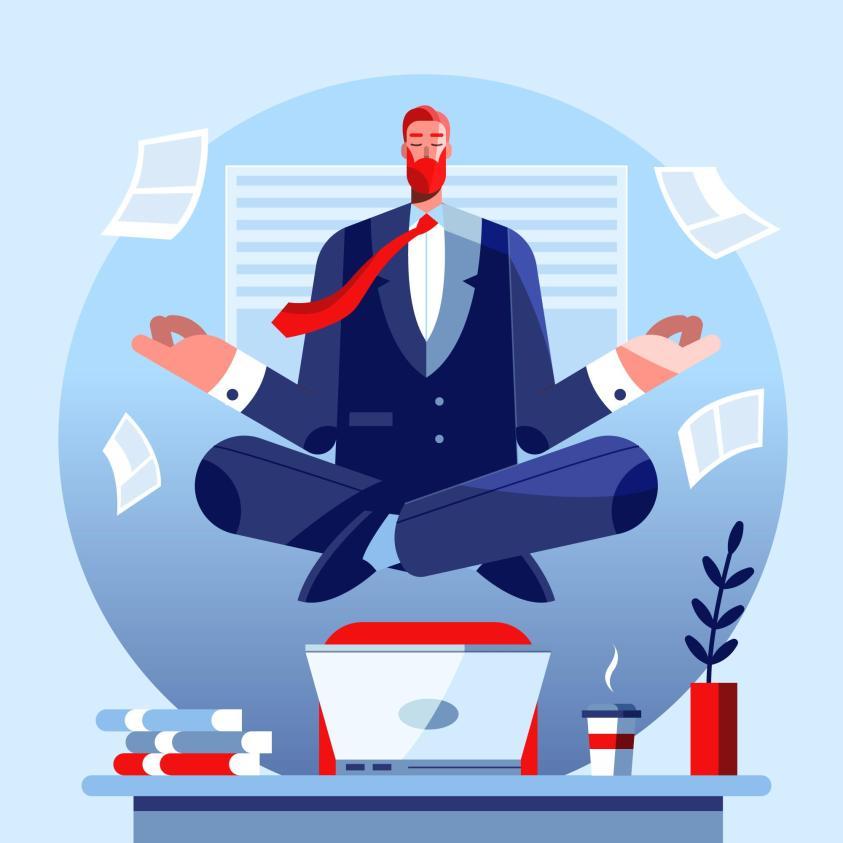 Business mindset-a real business man