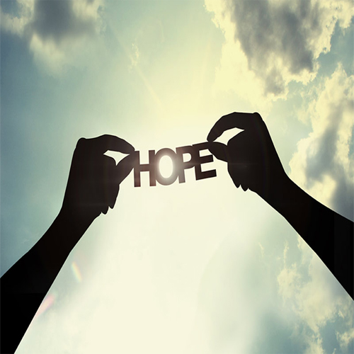 Hope is the foundation of peaceful soul