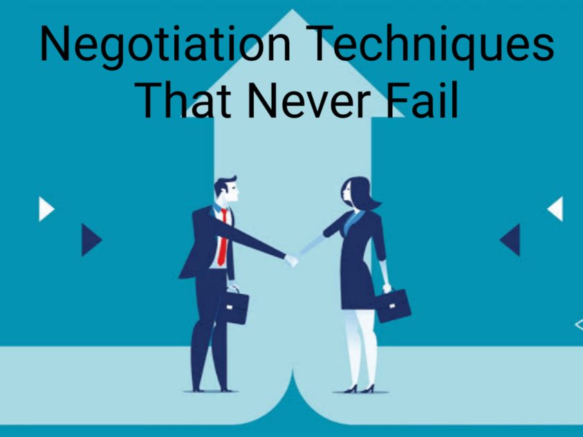 negotiation skill-How to get the best deal