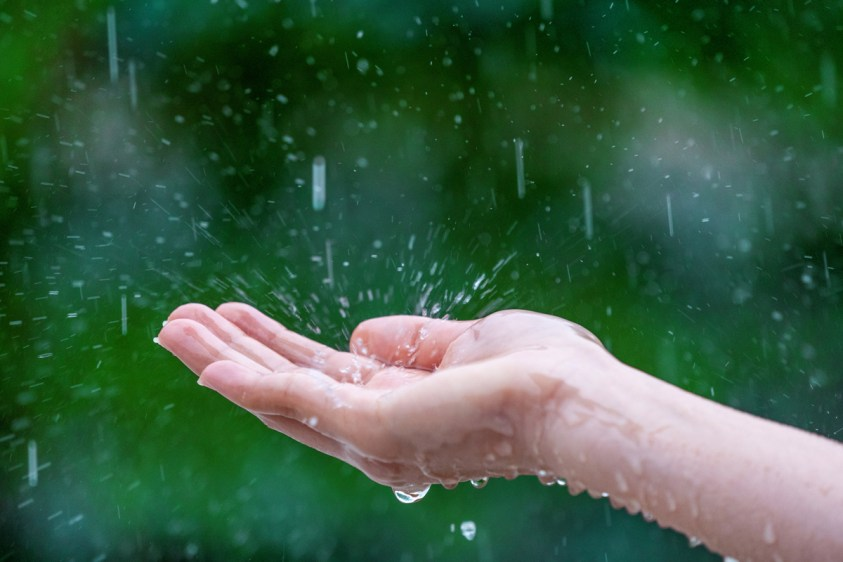 poem on rain-written by Mahadev premi -Author of Bujhobal