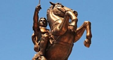 Estatua de Alejandro en Skopje, Capital de la República de Macedonia