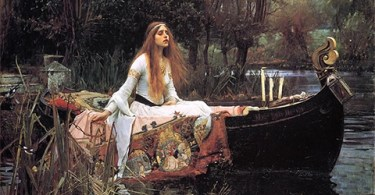 The Lady of Shalott - Waterhouse