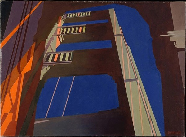 Charles Sheeler, Golden Gate