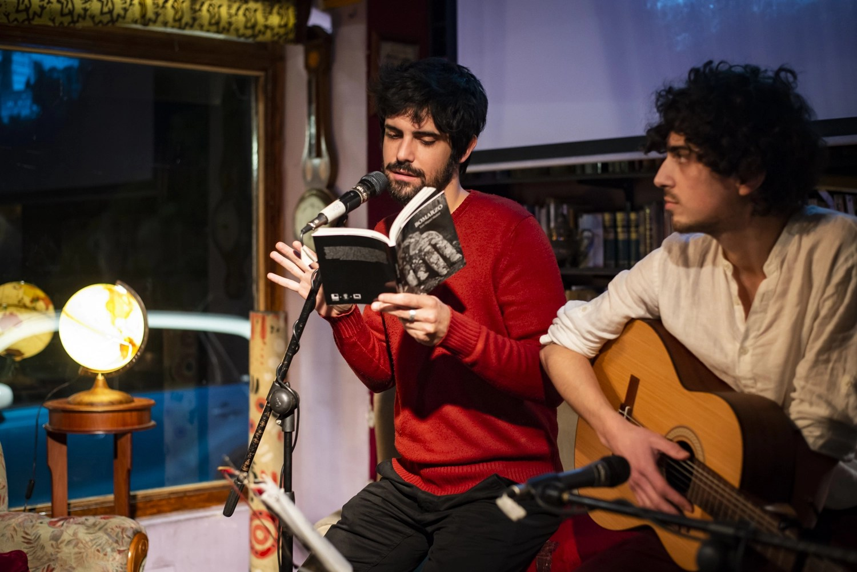 Francesco Carril y Manuel Franco