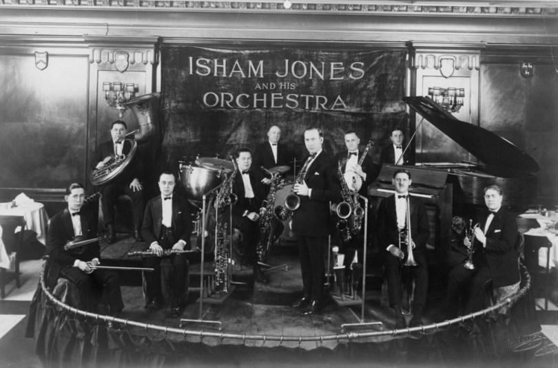 Isham Jones and his orchestra