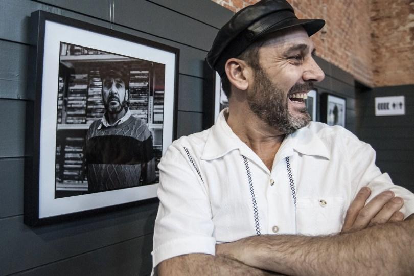 Luis Miguel Madrid en el estreno de Los Ilusos