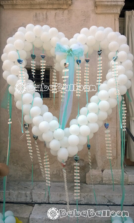 Allestimenti di palloncini matrimoni  bababalloon