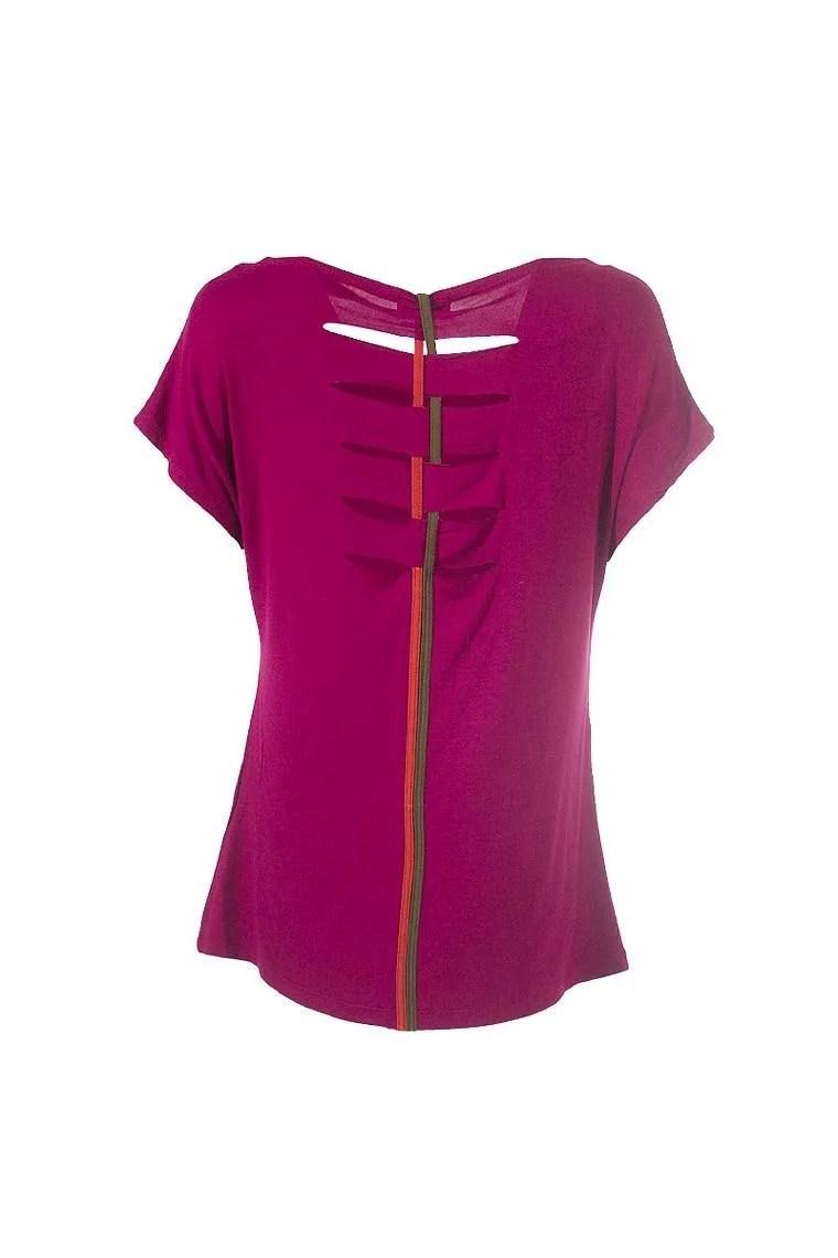 Tshirt pour femme avec manches courtes zbra  dos original
