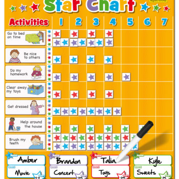 Large Star Chart