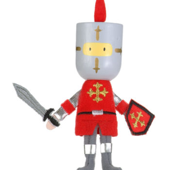 Red Knight Finger Puppet