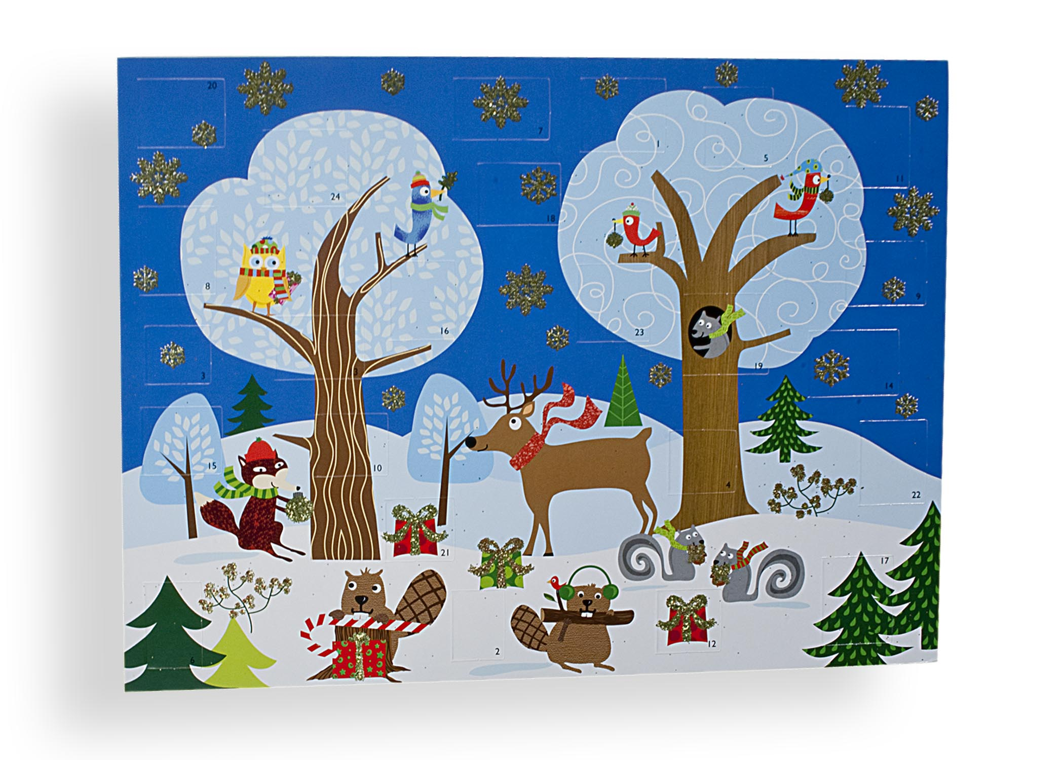 Winter Animals Advent Calendar