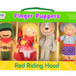 Red Riding Hood Finger Puppet Set (4)