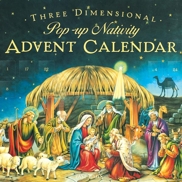 3D Pop-up The Nativity Advent Calendar