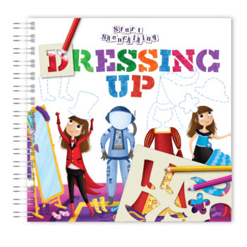 Dressing Up Stencil- NEW