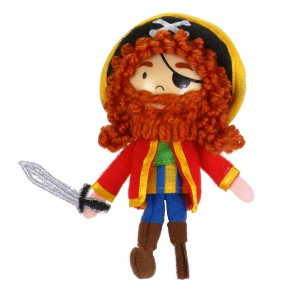 Long John Silver Finger Puppet