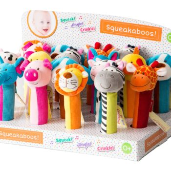 Squeakaboo Counter Display free w/ 24 pcs.