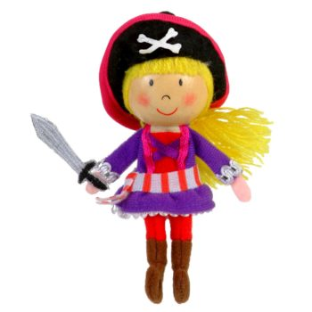 Girl Pirate Finger Puppet