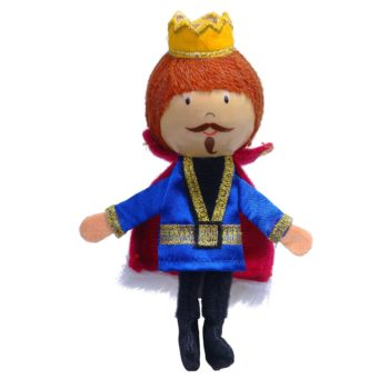 King Finger Puppet