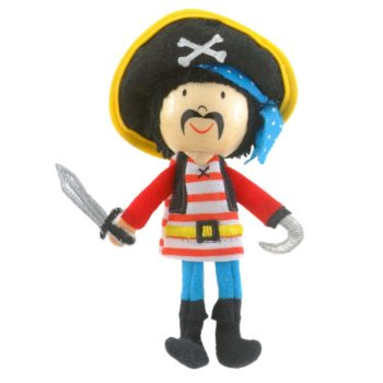 Pirate with Stripes Finger Puppet
